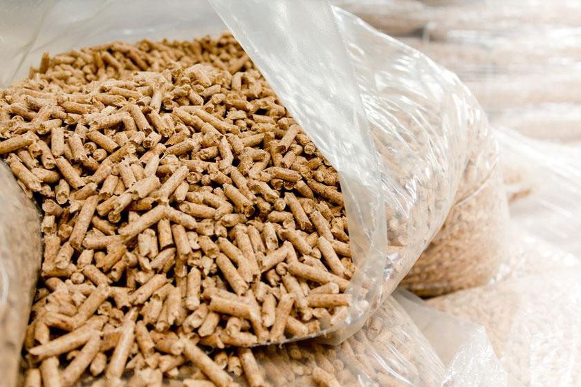 Biomasa transseba - Sacos de pellets ...